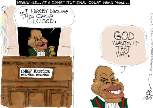 'Law and Order': Africartoons.com