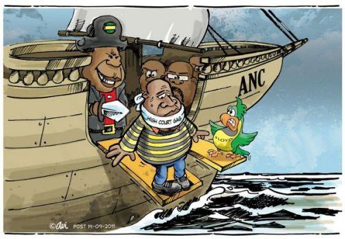 'Walking The Plank': Africartoons.com