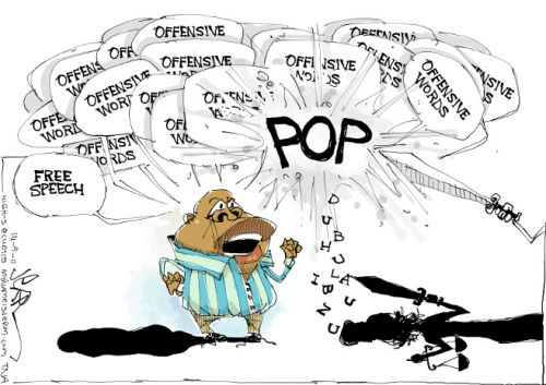 'Malema&#039;s Bubble': Africartoons.com
