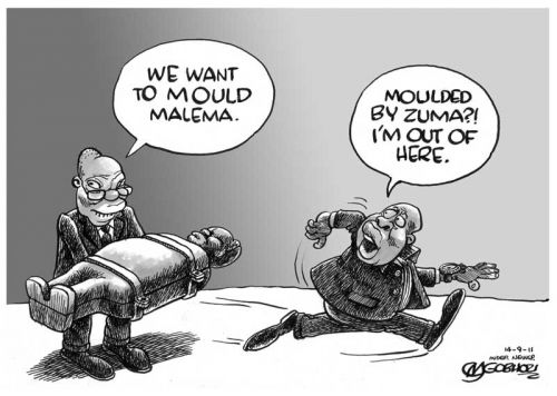 'In his Own Mould': Africartoons.com