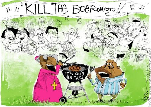 'Braai the Beloved Country': Africartoons.com