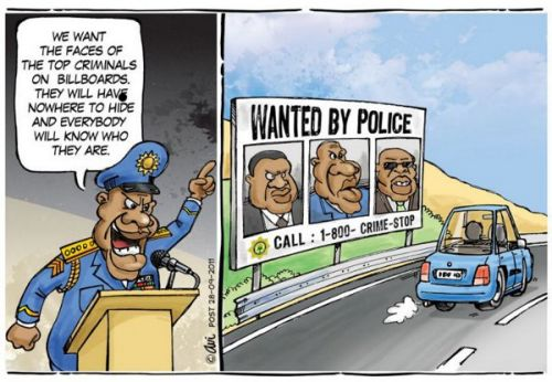'SA Most Wanted': Africartoons.com