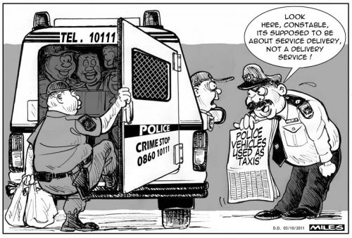 'Police Taxi': Africartoons.com