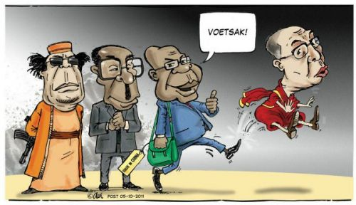 'Booted Out': Africartoons.com