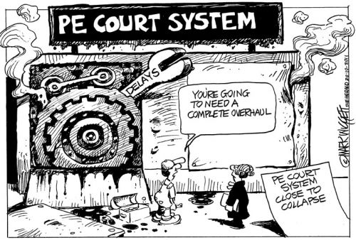 'Court Napping': Africartoons.com