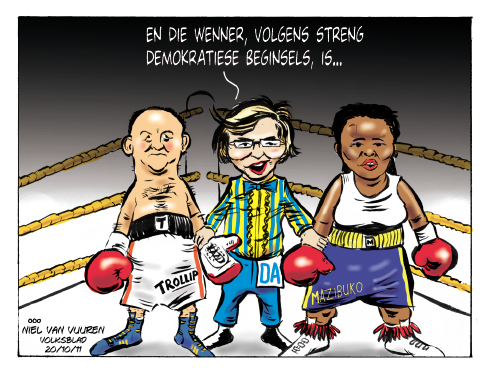 'Battle for the DA': Africartoons.com