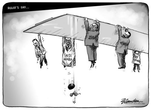 'Rulers&#039; End': Africartoons.com