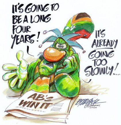 'The Four Year Wait': Africartoons.com