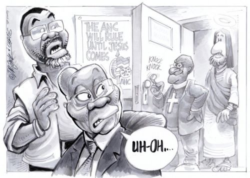 'A Time of Reckoning for the ANC': Africartoons.com