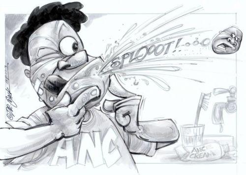 'Malema Purged from ANC': Africartoons.com