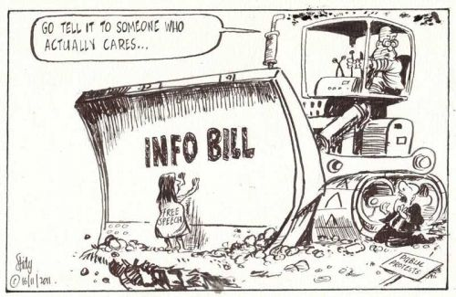 'Pushing Through the Bill': Africartoons.com