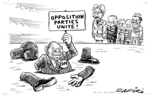 'COPE and the Super Opposition': Africartoons.com