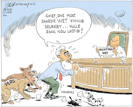'Quick, Pass That Bill, Says Mac': Africartoons.com