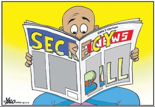 'Censored Newspaper': Africartoons.com