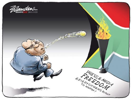 'Spitting On Our Freedoms': Africartoons.com