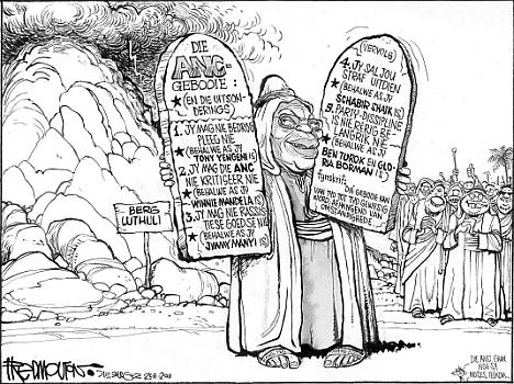 'Moses of Luthuli': Africartoons.com