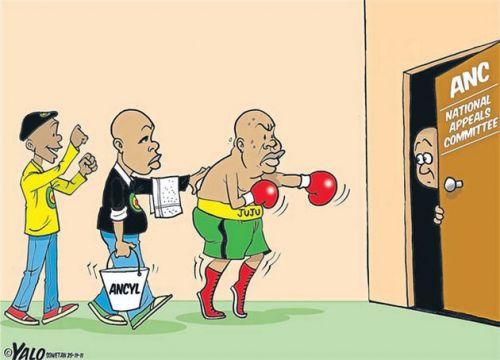 'Malema's Comeback Fight': Africartoons.com