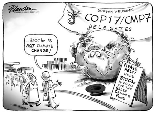 'Change for Climate Change': Africartoons.com