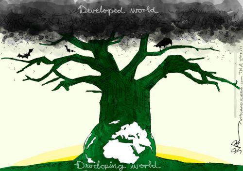 'COP 17 Global Inbalance': Africartoons.com