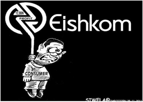 'Eishkom': Africartoons.com