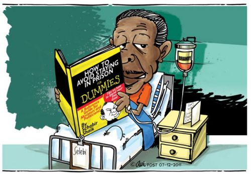 'Selebi's Self Help Reading ': Africartoons.com