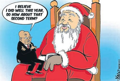 'Presidential Wish List': Africartoons.com