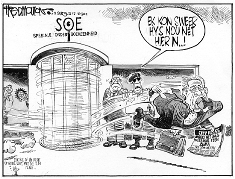 'Heath Out of SIU (again)': Africartoons.com