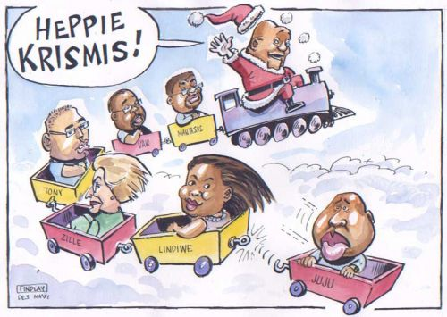 'A Christmas Card from Government': Africartoons.com