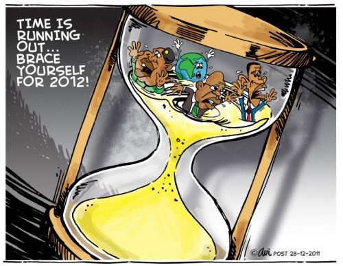 'Running Out of Time': Africartoons.com