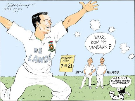 'In for de Lange Haul': Africartoons.com