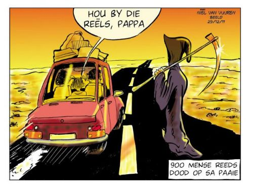 'Death on the Roads': Africartoons.com