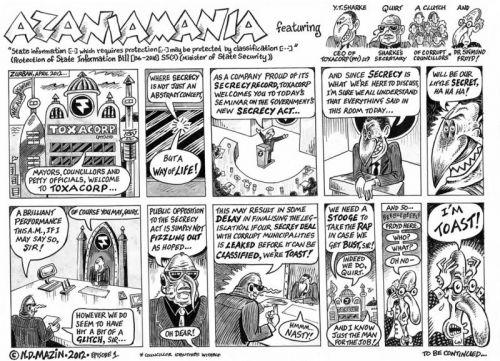 'Azaniamania': Africartoons.com