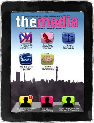 'The Media - January 2012 Cover.': Africartoons.com