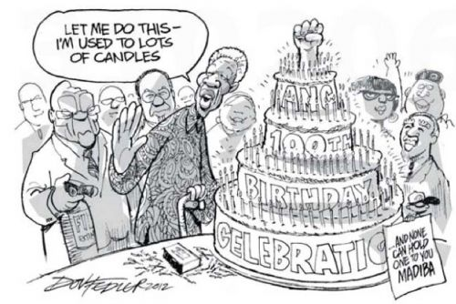 'ANCentenary: Call in the Expert': Africartoons.com