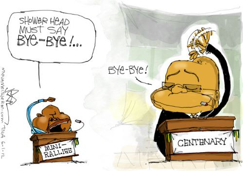 'It&#039;s Time to Say Bye Bye says Malema': Africartoons.com
