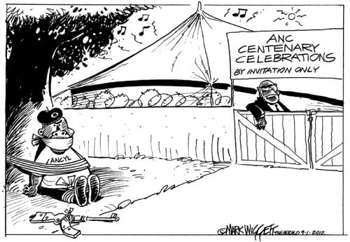 'ANCentenary: By Invitation Only': Africartoons.com