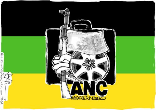 'Rebranding the ANC': Africartoons.com