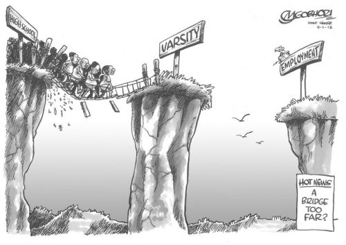 'A Bridge Too Far?': Africartoons.com
