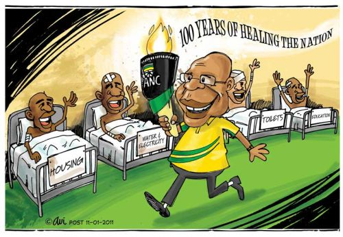 'The Good the ANC has Done': Africartoons.com