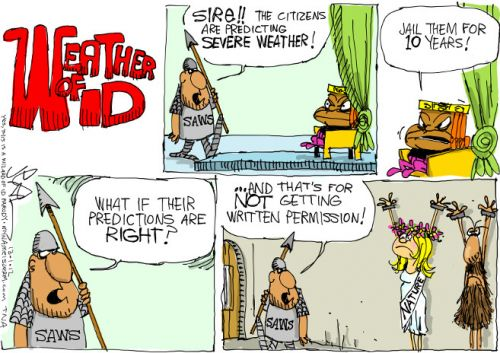 'The Weather of Idiocy': Africartoons.com