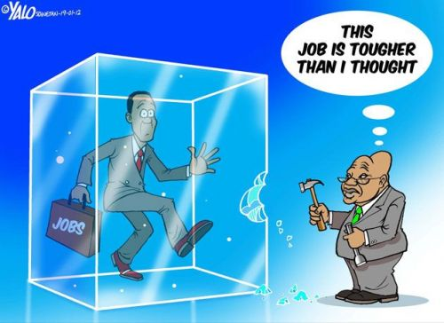 'Jobs on Ice': Africartoons.com