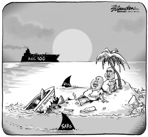 'Outcasts': Africartoons.com