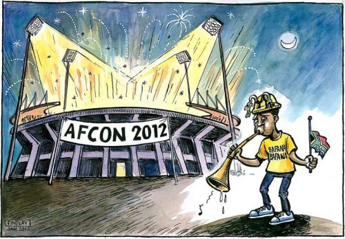 'Playing the Last Post': Africartoons.com