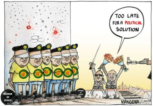'ANCYL the Firing Line': Africartoons.com