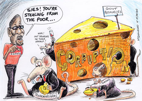'Vermin in the System': Africartoons.com