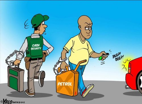 'The Value of Petrol': Africartoons.com