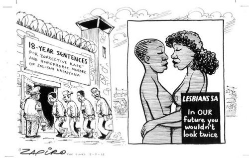 'Corrective Service for a Corrective Rapist': Africartoons.com