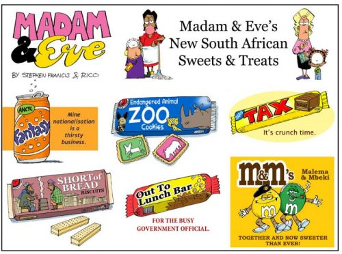 'Home Sweet South Africa': Africartoons.com