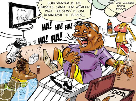 'Tendering to Business': Africartoons.com