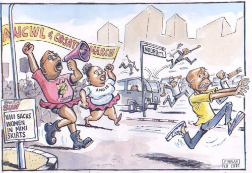 'Dress As You Please': Africartoons.com